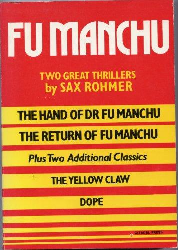 9780806508993: Fu Manchu