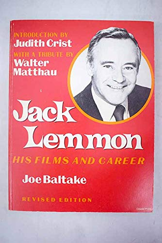 9780806510019: Jack Lemmon: His Films and Career
