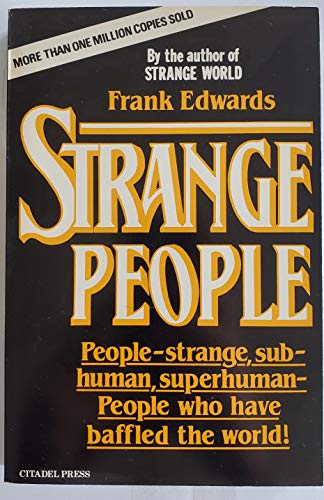 9780806510118: Strange People