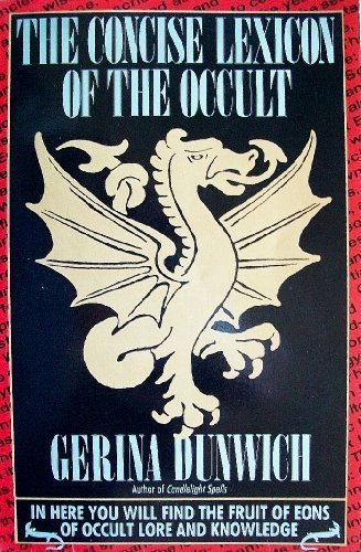 9780806511917: The Concise Lexicon of the Occult