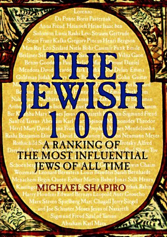 JEWISH 100: A Ranking of the Most Influential Jews of All Time