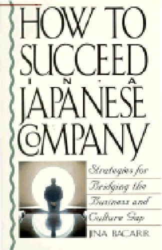 How to Succeed in a Japanese Company: Bacarr, Jina