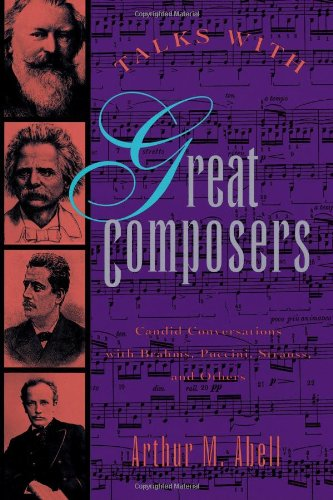 9780806515656: Talks With Great Composers