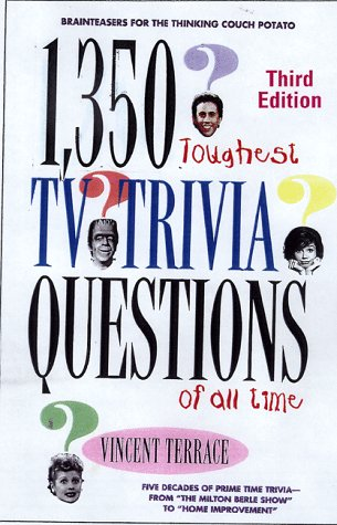 9780806520810: The 1,350 Toughest TV Trivia Questions of All Time
