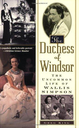 9780806524641: The Duchess Of Windsor: The Uncommon Life of Wallis Simpson