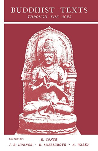 9780806529103: Buddhist Texts: Through the Ages