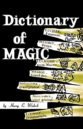 9780806529356: Dictionary of Magic