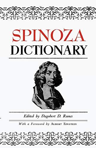 9780806529646: Spinoza Dictionary