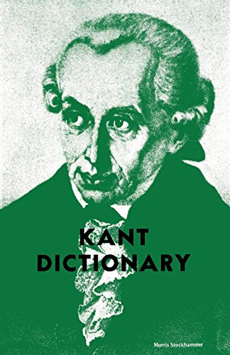 9780806529738: Kant Dictionary