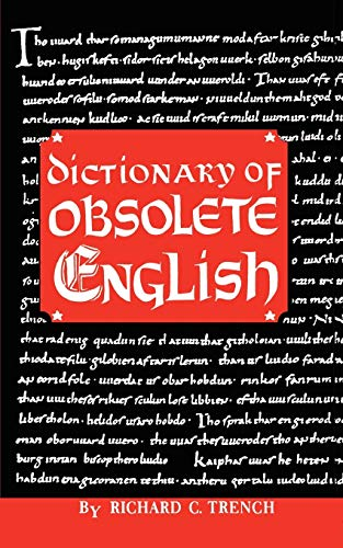 9780806530420: Dictionary of Obsolete English