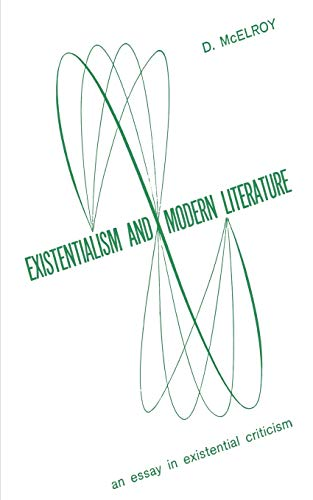 9780806530895: Existentialism and Moder Literature
