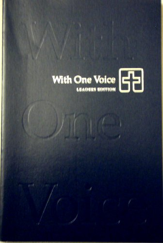 With One Voice: A Lutheran Resource for: Augsburg