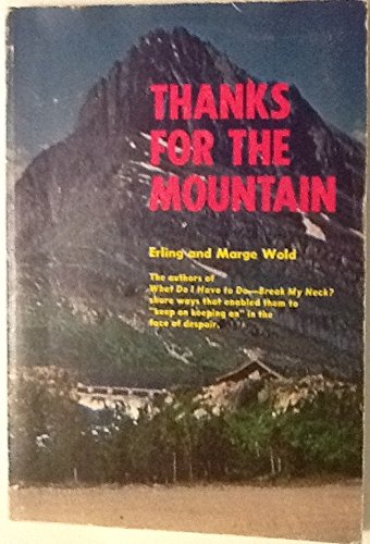 9780806614618: Thanks for the mountain
