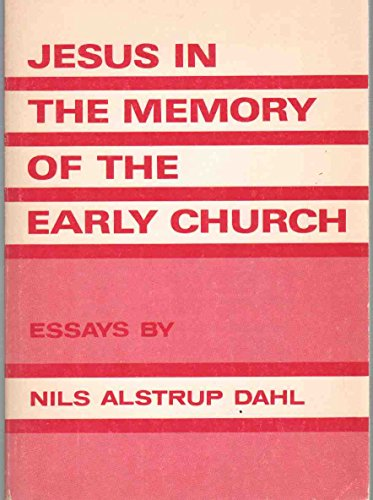 9780806615615: Jesus in the memory of the early church: Essays