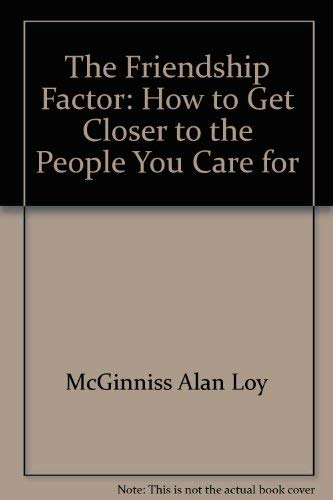 9780806617107 The Friendship Factor How To Get Closer To The