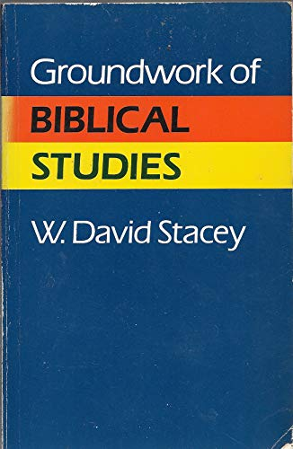 9780806619361: Groundwork of Biblical Studies
