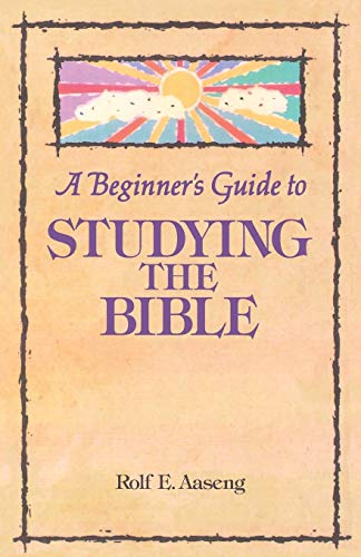 9780806625713: Beginners Guide to Studying the Bible