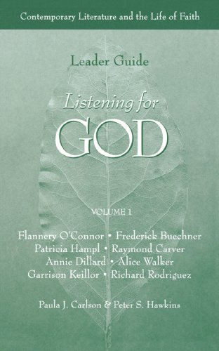 9780806627168: Listening for God: Contemporary Literature and the Life of Faith (Leader Guide) (Vol 1)