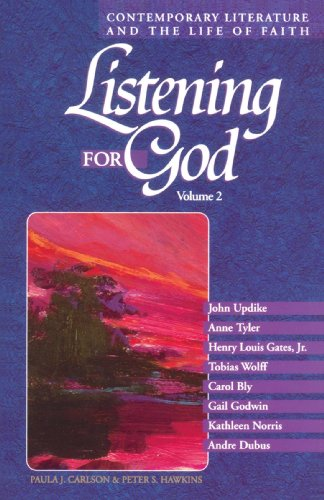 9780806628448: Listening for God: Contemporary Literature and the Life of Faith, Volume 2