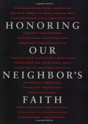 9780806638461: Honoring Our Neighbors Faith