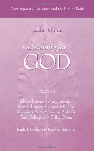 9780806639635: Listening for God: Contemporary Literature and the Life of Faith - Leader Guide