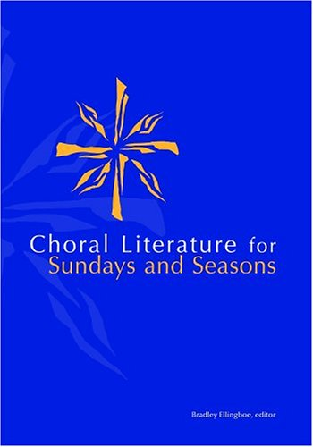 9780806646893: Choral Lit for Sunday Seasons