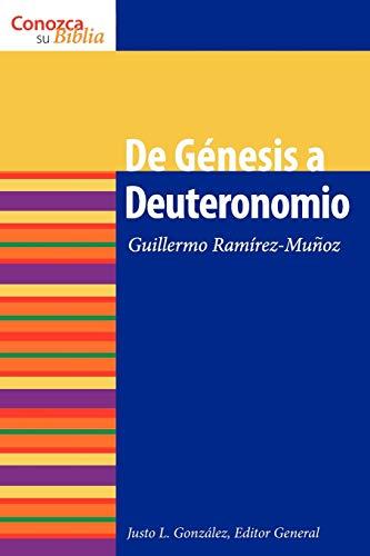 9780806657769: De Genesis a Deuteronomio (Conazca Su Biblia) (Spanish Edition)