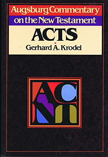 9780806688848: Acnt Acts (Augsburg Commentary on the New Testament)