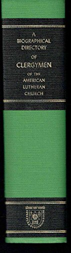 A Biographical Directory of Clergymen of The: John Martin Jensen;