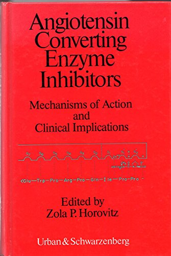 Angiotensin Converting Enzyme inhibitors. Mechanisms of Action and Clinical Implications,: Horovitz...