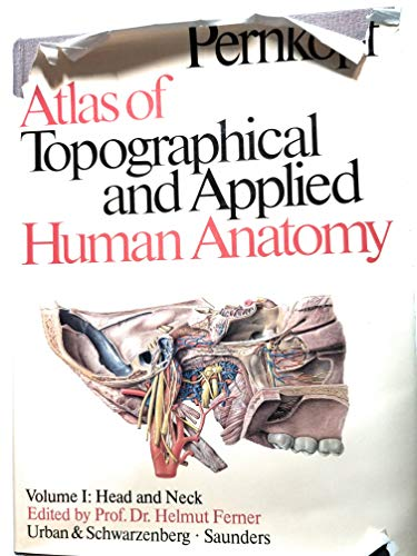 9780806715520: Atlas of Topographical and Applied Human Anatomy: Head and Neck v. 1