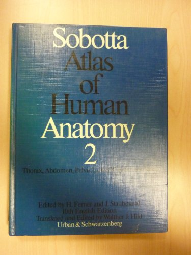 9780806717203: Atlas of Human Anatomy: Thorax, Abdomen, Pelvis, Lower Extremities, Skin - English Names v. 2