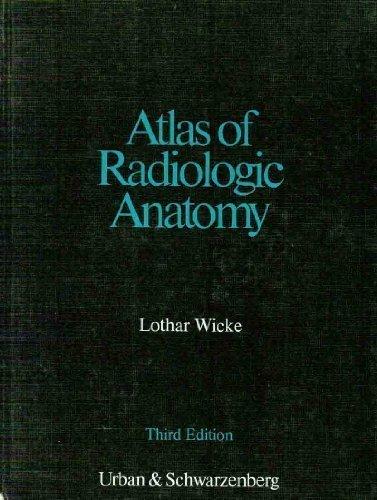 9780806721132: Atlas of Radiologic Anatomy (English and German Edition)