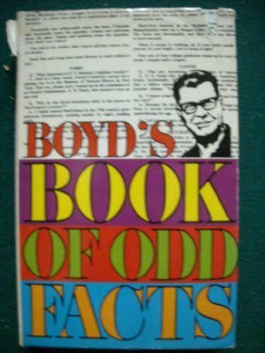9780806901664: Boyd's book of odd facts