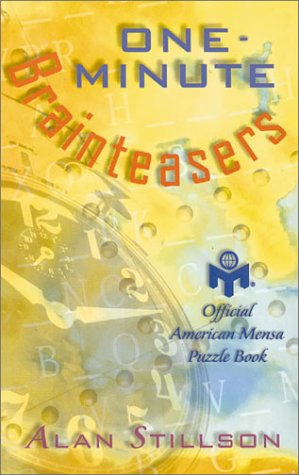 9780806901879: One-Minute Brainteasers: Official American Mensa Puzzle Book