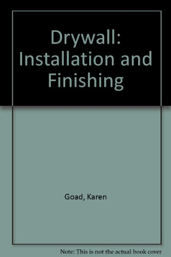 9780806903040: Drywall Installation and Finishing