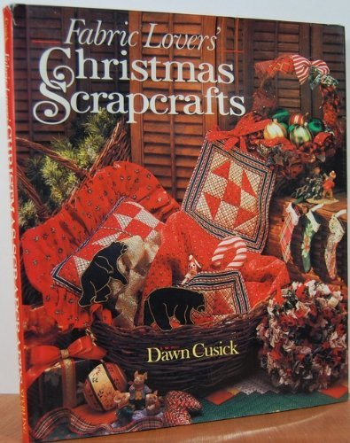 9780806904375: Fabric Lovers' Christmas Scrapcrafts