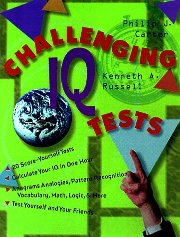 9780806904610: Challenging IQ Tests