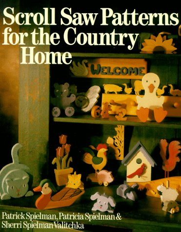 9780806904818: Scroll Saw Patterns for the Country Home