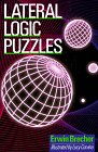 Lateral Logic Puzzles (0806906189) by Brecher, Erwin