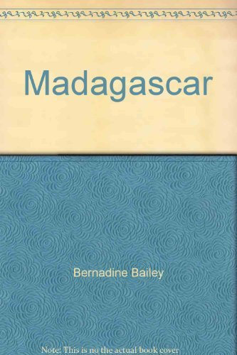 9780806911885: Madagascar: The Malagasy Republic in pictures (Visual geography series)