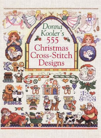 9780806920726: Donna Kooler's 555 Christmas Cross-Stitch Designs