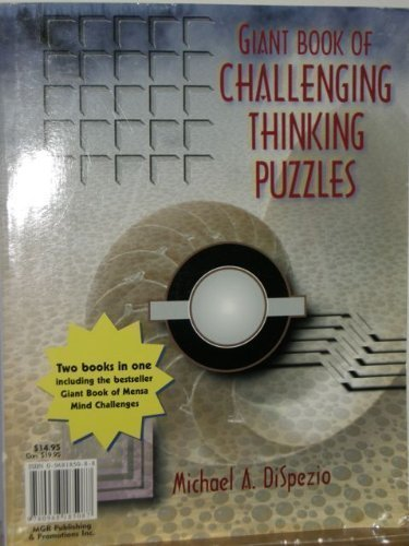 9780806920870: Giant book of challenging thinking puzzles