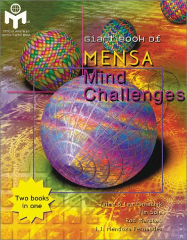 9780806920931: Giant Book of Mensa Mind Challenges (Giant Book Series)