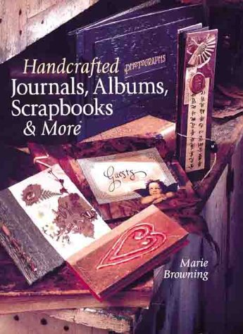 9780806922676: Handcrafted Journals, Albums, Scrapbooks & More