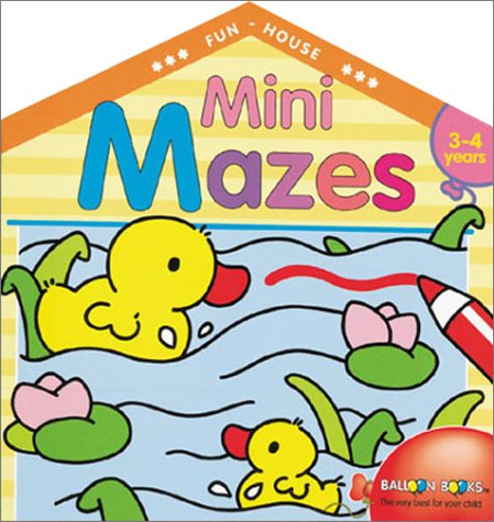 9780806922805: Mini Mazes: Fun House Paperbacks