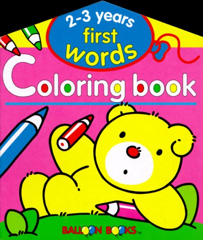 9780806926612: Balloon: First Words Coloring Book 2-3 Years