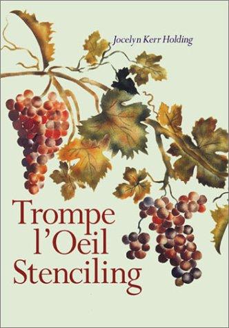 9780806928524: Trompe L'Oeil Stenciling
