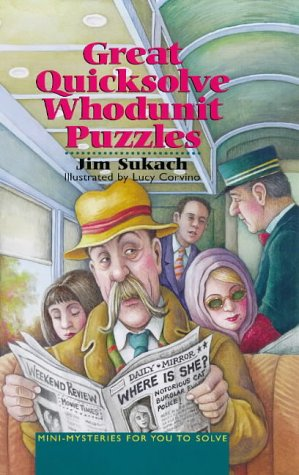 9780806938271: Great Quicksolve Whodunit Puzzles