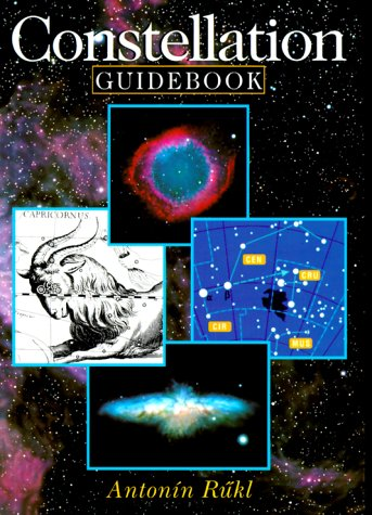 Constellation Guidebook (0806939796) by Rükl, Antonín